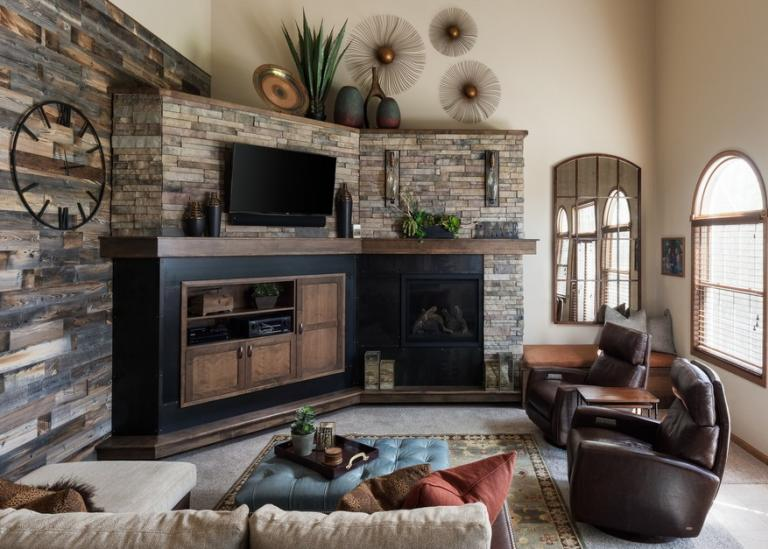 Sophisticated Transitional living room