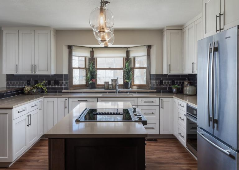 Sophisticated Transitional kitchen