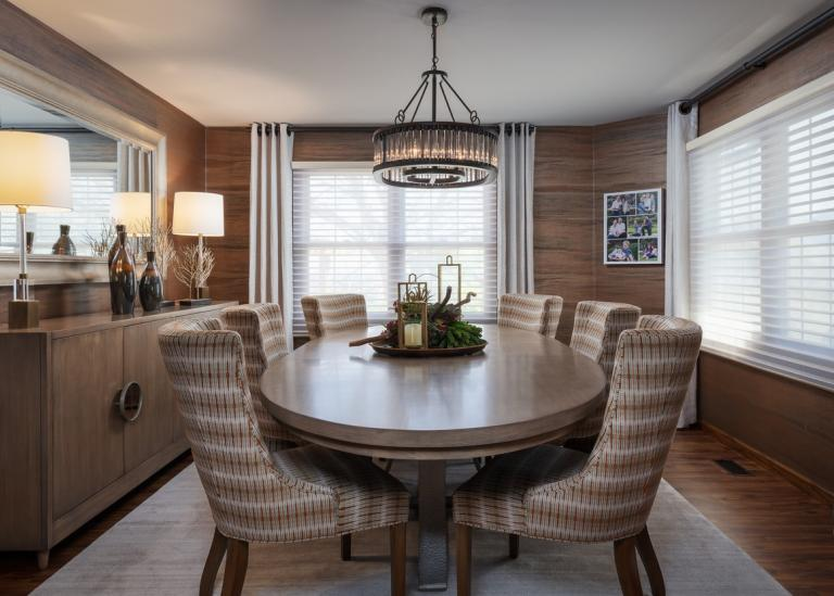 Sophisticated Transitional dining room